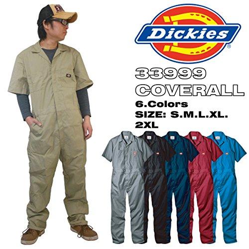 【Dickies】ディッキーズ 半袖 カバーオール つなぎ SHORT SLEEVE COVERALLS 「33999」