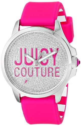 Juicy Couture Women's 1901144 Jetsetter Analog Display Quartz Pink Watch