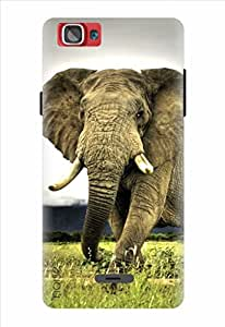 Noise Wild Elephant Printed Cover For Xolo One
