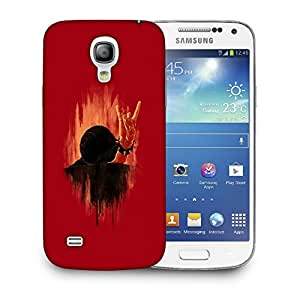 Snoogg Yoo Snail Designer Protective Back Case Cover For SAMSUNG GALAXY S4 MINI