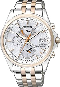 Citizen Elegant FC0014-54A Reloj radiocontrolado para mujeres Eco-Drive Multibanda 4