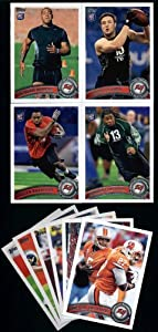 2011 Topps Tampa Bay Buccaneers Complete Team Set (10 Cards)