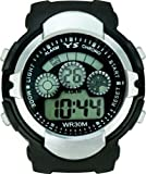 EfashionUp Black Dial Sports Watch with Alarm / Stop Watch for Mens & Men's-298