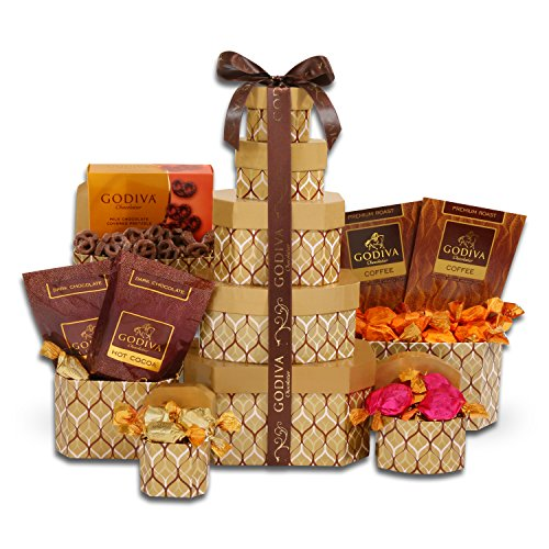 For Santa'S Sweet Tooth Godiva Chocolate Gift Basket