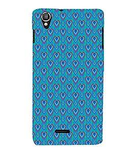 EPICCASE bluey hearts Mobile Back Case Cover For Lava Iris X800 / Lava Iris X800 (Designer Case)