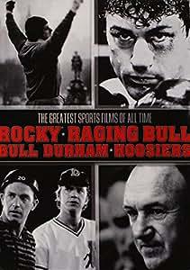 Sports Giftset  (Bull Durham / Hoosiers / Raging Bull / Rocky )