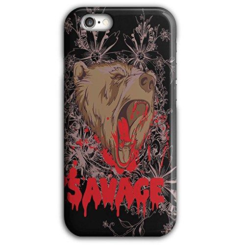 savage-grizzly-bear-brown-cub-new-black-3d-iphone-6-plus-6s-plus-case-wellcoda