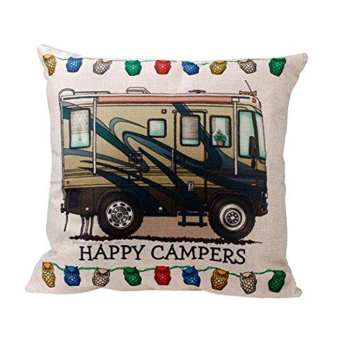 [Baishitop Cartoon Printed Pillow Cases Square Sofa Throw Cushion Cover Home Decor-45*45cm (C)] (Dark Magician Costumes Pattern)