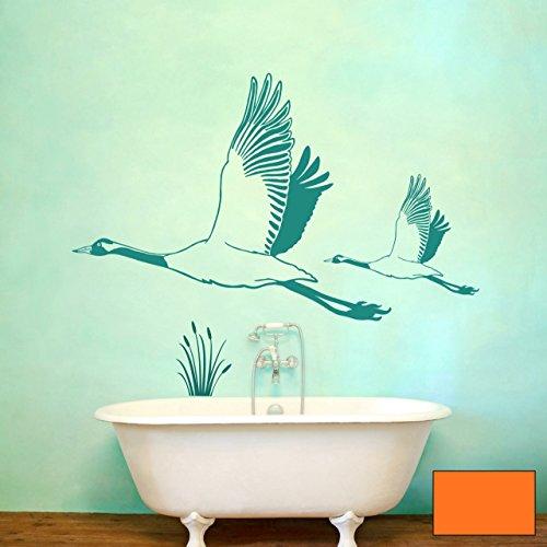 Graz-design-sticker-mural-dcoratif-motif-hron-grue-grues-hron-cendr-m1431-choix-de-couleur