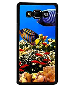 printtech Fish Coral Seawater Back Case Cover for Samsung Galaxy A7::Samsung Galaxy A7 A700F