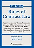 Rules of Contract Law Statutory Supplement