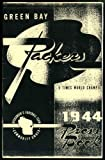 1944 Green Bay Packers Media Guide Repro - NFL Football Reproduction at Amazon.com