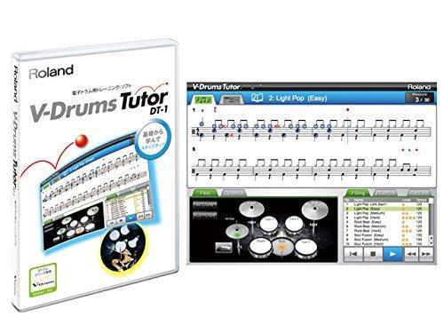 photo Roland - Logiciels Tutoriels DT1 Drum Tutor DT1DrumTutor Neuf garantie 3 ans