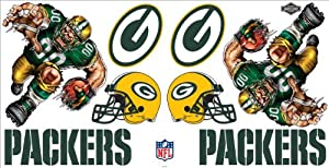 NFL Green Bay Packers Skinit Liquid Blue Car Decals