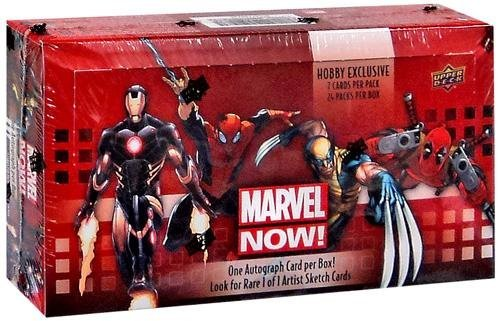 Marvel NOW! Trading Cards Hobby Boxset (Marvel Mimic compare prices)