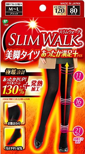 slim-walk-legs-tights-satisfaction-plus-black-m-l-size-2016-new-from-japan