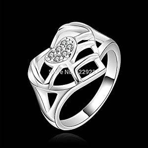 Wonderful Dream R510 Low Price 925 Silver Ring Engagement Ring