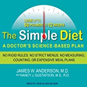 The Simple Diet: A Doctor's Science-based Plan | [James W. Anderson, Nancy J. Anderson]