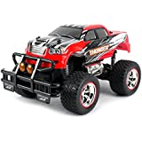 V Thunder Pickup Rc Remote Control Truck Big 1:14 Size Scale Off Road Series Ready To Run Rtr W/ Working Suspension...