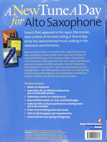 Alto Saxophone: A new tune a day (book + cd): [Book 1]