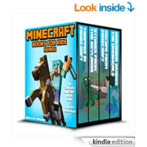 4 FREE Minecraft Books for Kids!! **Hot**