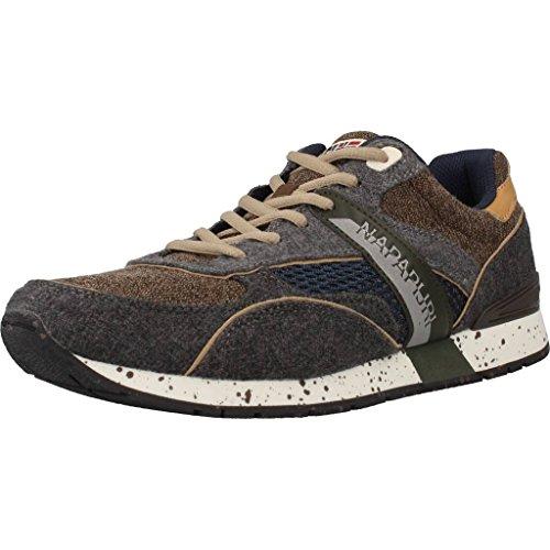 Sneakers Uomo Napapijri 13838565 Grigio/beige Autunno/Inverno Grigio/beige 44