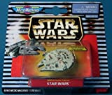 Star Wars 1996 Micro Machines Die Cast Metal Millennium Falcon