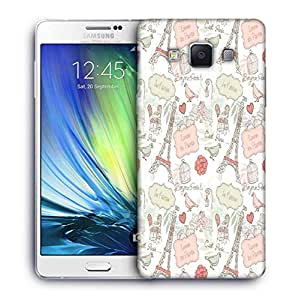 Snoogg Love in Paris Designer Protective Back Case Cover For Samsung Galaxy ON5