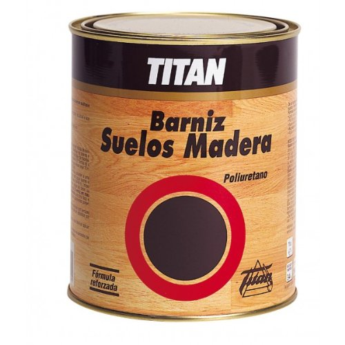Titanlux - Barniz poliuretan satinad titan suelo madera 500ml 044000112