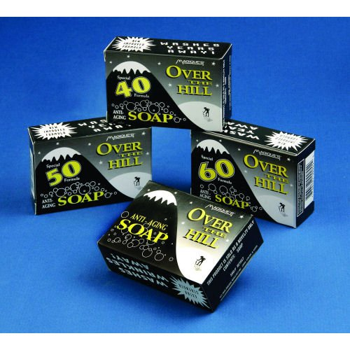 50 Soap Over the Hill Gag Gift