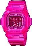 Casio Women's BG5601-4DR Baby-G Square Luminous Color Pink Digital Watch