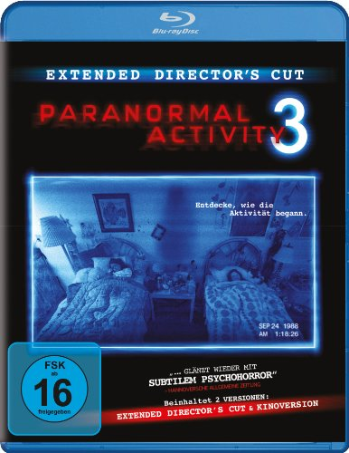 Paranormal Activity 3 - Extended [Alemania] [Blu-ray]