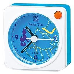 Disney Donald Duck Daisy Duck quartz alarm clock (white paint) FD470W