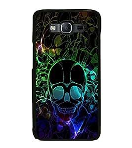 ifasho Designer Phone Back Case Cover Samsung Galaxy On7 G600Fy :: Samsung Galaxy Wide G600S :: Samsung Galaxy On 7 (2015) ( Colorful Pattern Design Black )