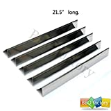 bbq factory JPX35 JPX34 Replacement Stainless Steel Flavorizer Bars / Heat Plate, Set of 5, 21.5