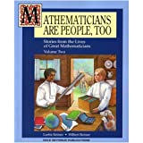 img - for Mathematicians Are People, Too: Stories from the Lives of Great Mathematicians, Vol. 2 book / textbook / text book