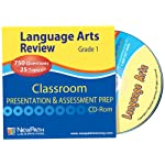 NewPath Learning Language Arts Interactive Whiteboard CD-ROM, Site License, Grade 1