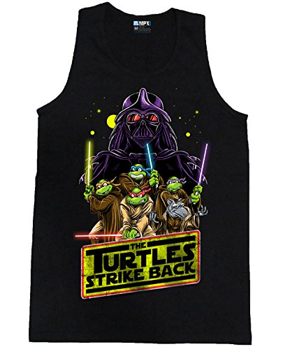 Teenage Mutant Ninja Turtles Strike Back Mens Tank Top