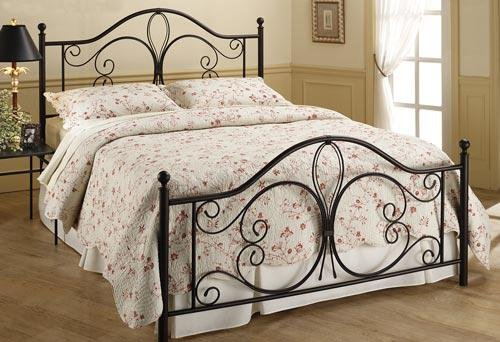 Milwaukee Traditional Antique Brown Headboard, Twin Size
