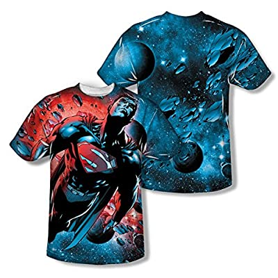 Superman Red Sun All Over Print Front / Back T-Shirt
