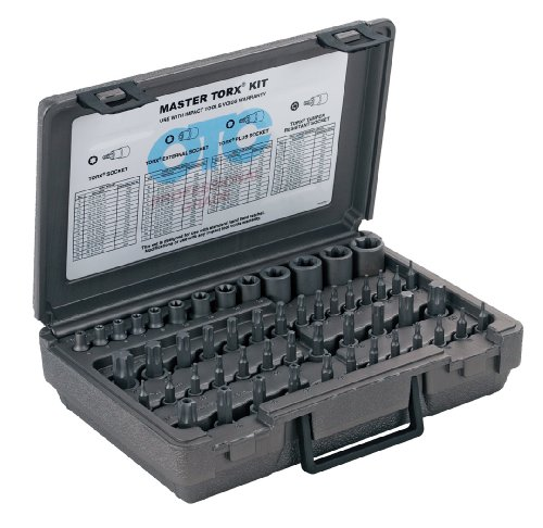 Otc 5900A 52 Piece Master Square Drive Torx Set front-556946
