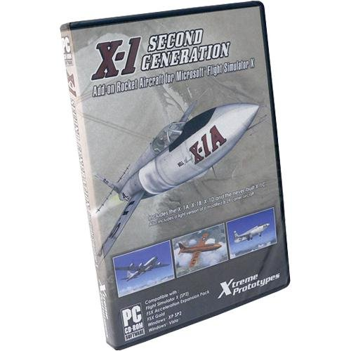 Flight Simulator X: X-1 Second Generation Add On &#8211; Windows