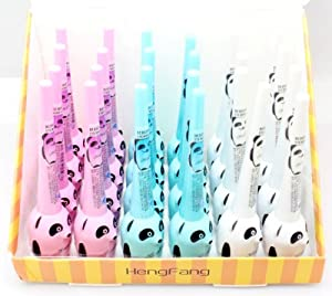 H-5282A Cute Panda Black Waterproof Liquid Eyeliner Smudge Proof Makeup Cosmatics Eye Liner