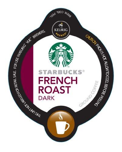 Starbucks French Dark Roast Vue Cups For Keurig Vue Brewer ! front-632594