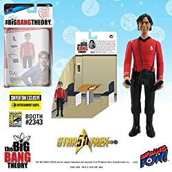 The Big Bang Theory/TOS Raj 3 3/4-Inch Figure - Con. Excl.