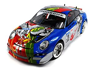 Porsche 911 GT3 Electric RC Car Big Size 1:10 Scale CT Speed Racing 10MPH Ready To Run RTR (Colors May Vary) by RC Porsche 911 Car