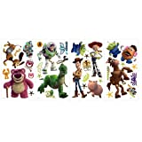 York Wallcoverings RMK1428SCS RoomMates Toy Story 3 Peel & Stick Wall Decals,