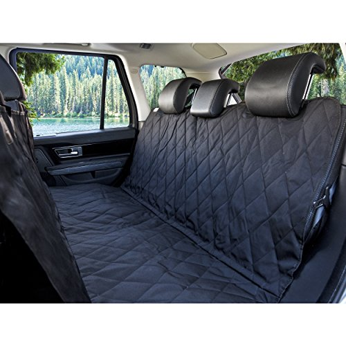 BarksBar-Pet-Car-Seat-Cover-With-Seat-Anchors-for-Cars-Trucks-and-Suvs-Black-WaterProof-NonSlip-Backing