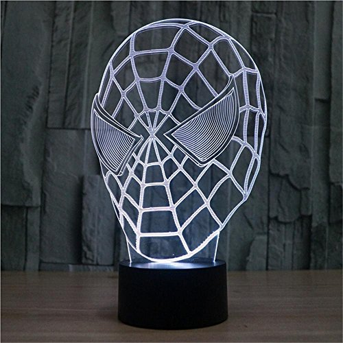lampada a LED prospettiva lampada atmosfera 3D