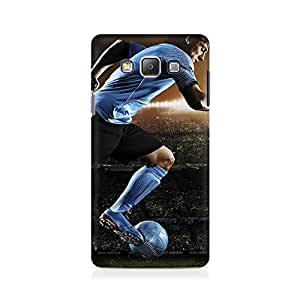 Motivatebox- Messi Flying Premium Printed Case For Samsung Grand Prime 5308 -Matte Polycarbonate 3D Hard case Mobile Cell Phone Protective BACK CASE COVER. Hard Shockproof Scratch-